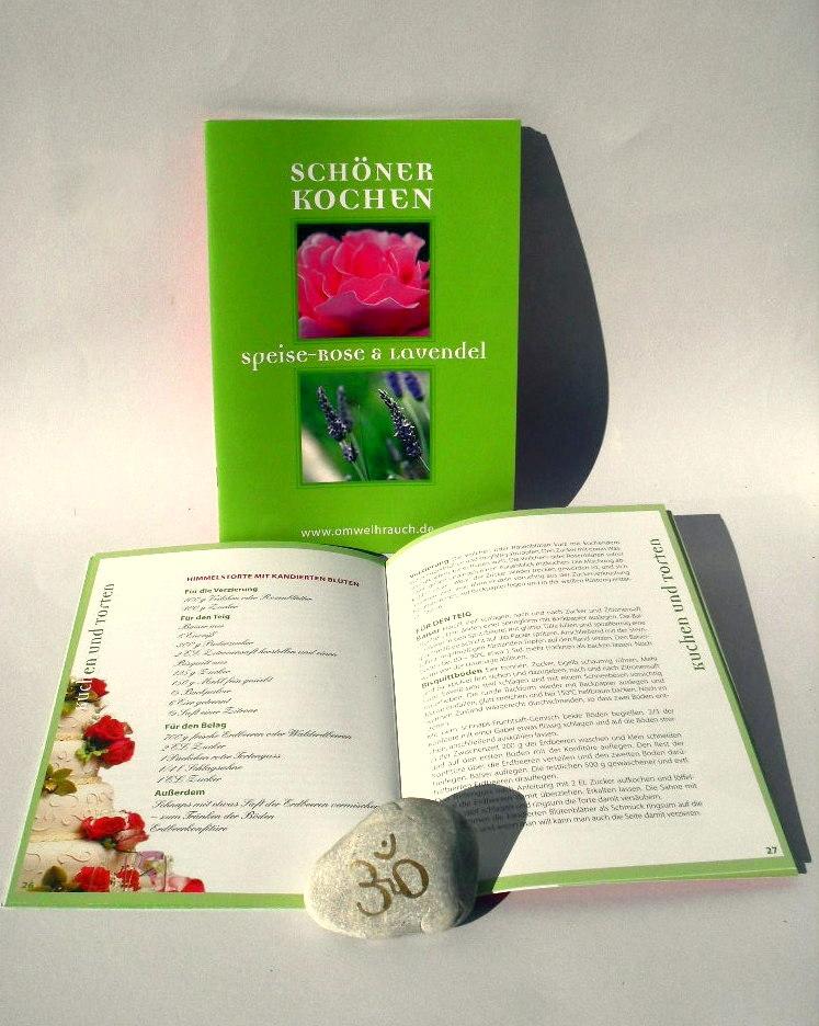 kochen und genie en sch ner kochen mit rose und lavendel. Black Bedroom Furniture Sets. Home Design Ideas
